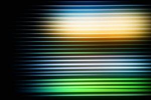 Horizontal daydream motion blur back