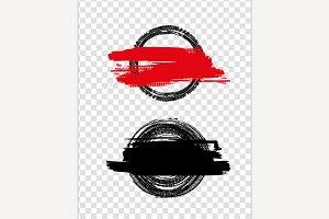 Grunge off-road tire stamp