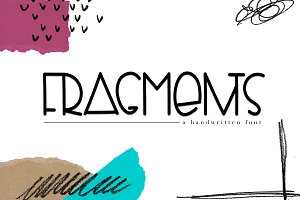Fragments - Handwritten Font