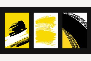 Grunge Tire Posters