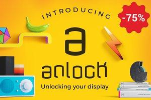 anlock - Typeface