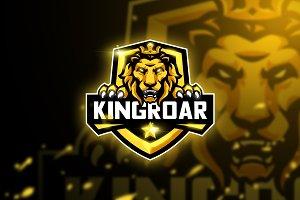 Kingroar - Mascot & Esport logo