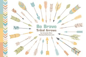 Vintage Boys Arrow Clipart & Vectors
