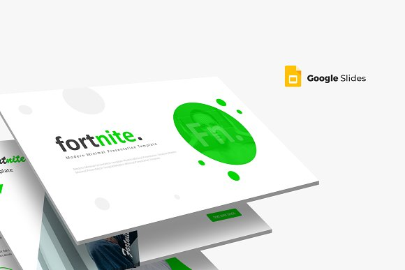 Google Presentation Templates | Fortnite Google Slides Template Presentation Templates