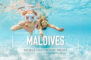Mobile Lightroom Preset Maldives