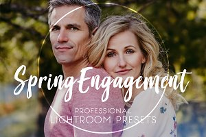Lightroom Preset | Spring Engagement