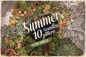 ✿ Summer Doodles Patterns