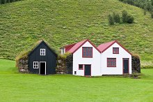 Typical Rural Icelandic houses