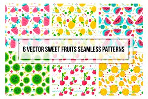 Sweet Fruits & Berries Patterns