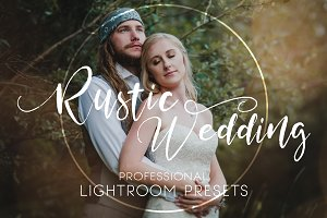 Lightroom Presets | Rustic Wedding