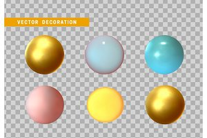 3D sphere isolated