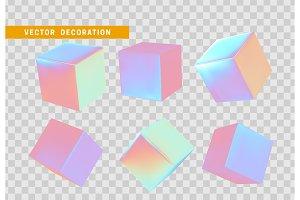shape of 3d cubes
