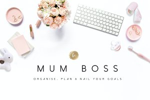 Mum Boss - Printable Planner