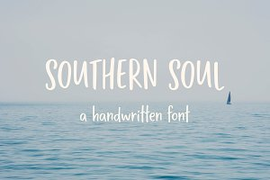 Southern Soul | Handwritten Font