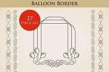 Balloon Border