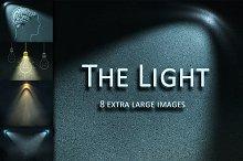 Pattern of light on dark wall