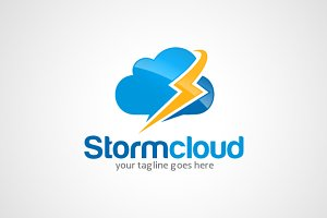 Cloud Storm Logo Template