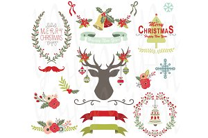 Christmas Clip Art Elements