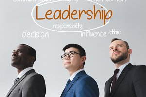 leadership concept sign