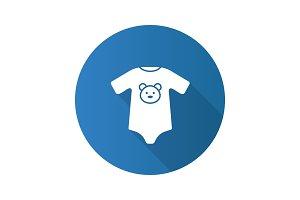 Baby bodysuit icon