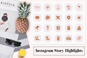 Travel Instagram Story Highlights