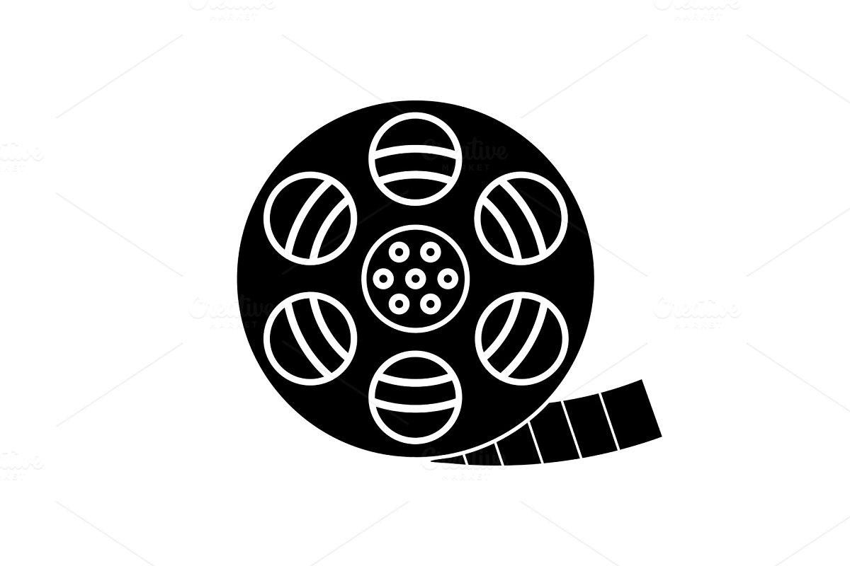 strip roll glyph icon Icons Creative Market