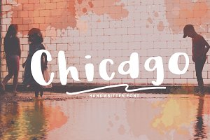 Chicago | A Chic Handwritten Font