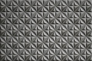 3D decorative panel seamless texture
