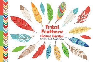 Kids Feather Clipart & Vectors