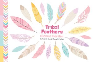 Pink Feathers Clipart & Vectors