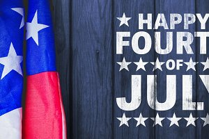 Image of happy fourth of july