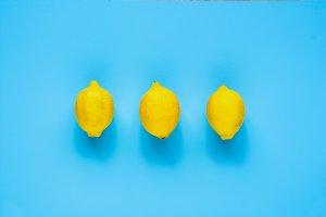 Three whole lemons