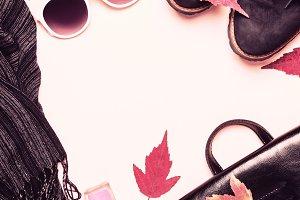 female fashion autumn accessories, s
