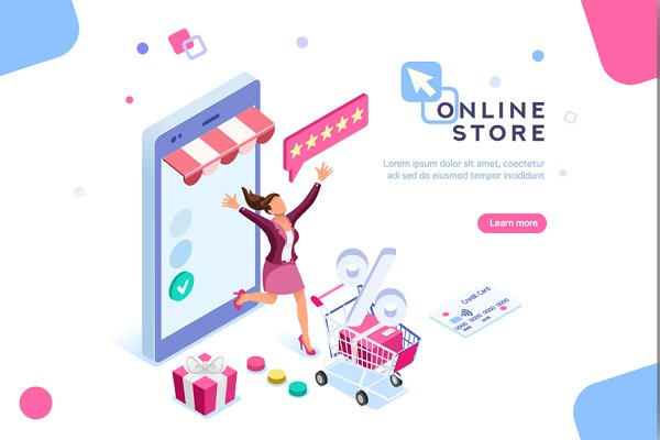 Shopping and Discounts Web Page
