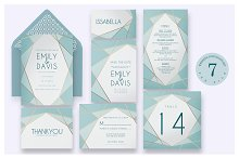Geometric - Wedding Invitation Ac.58