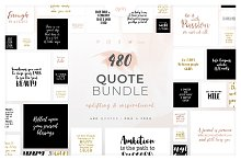 480 Quotes Bundle