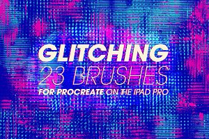 Glitching Brushes for Procreate