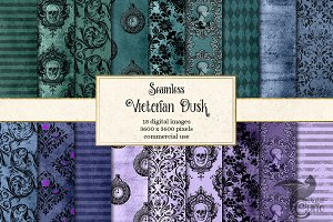 Victorian Dusk Digital Paper
