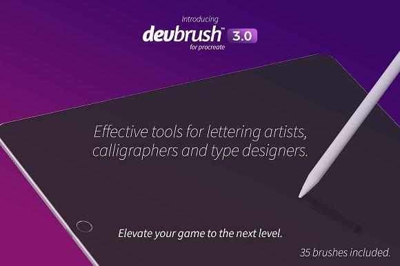 DevBrush™ 3.0 for Procreate