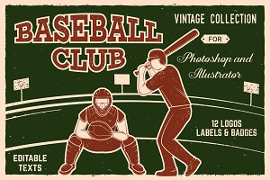 Baseball Club Vintage Collection