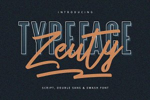 Zeuty Typeface Collection