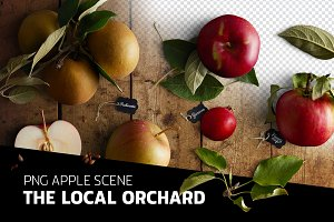 PSD scene - The local orchard