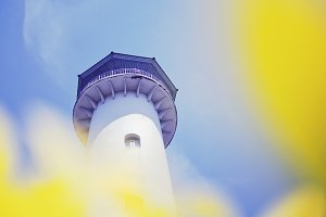 Close up of a lighthouse