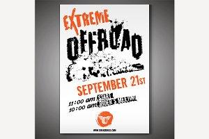 Off-Road horizontal poster