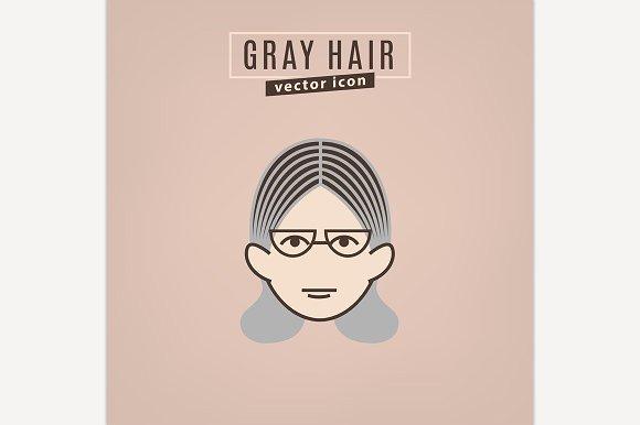 Hair problem icon