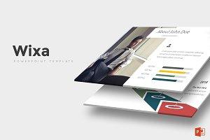 Wixa - Powerpoint Template