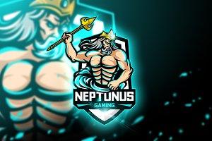 Neptunus Gaming-Mascot & Esport Logo