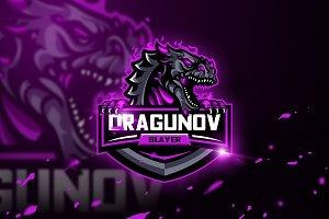 Dragunov Slayer-Mascot & Esport Logo