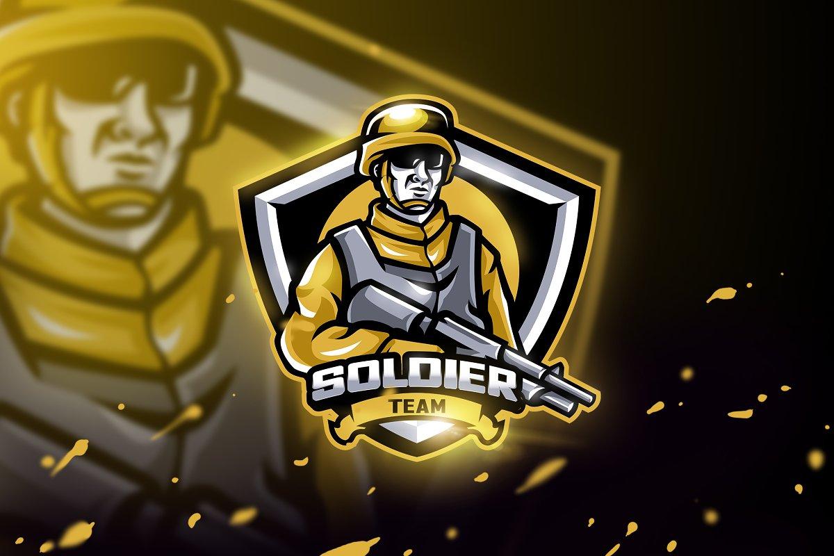 Soldier Team - Mascot & Esport Logo