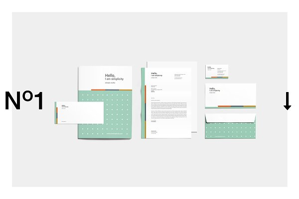Stationery Templates - Hello Corporate Identity